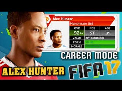 Primo VIdeo FIFA 17 il viaggio di Hunter