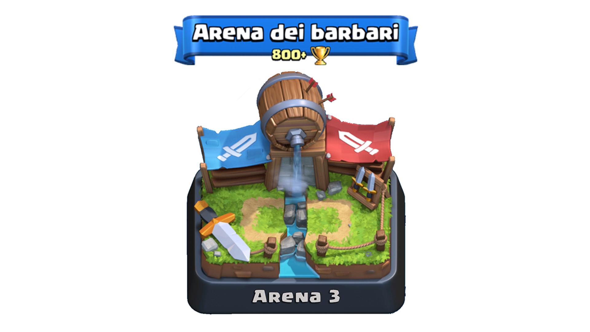 deck arena 3 clash royale