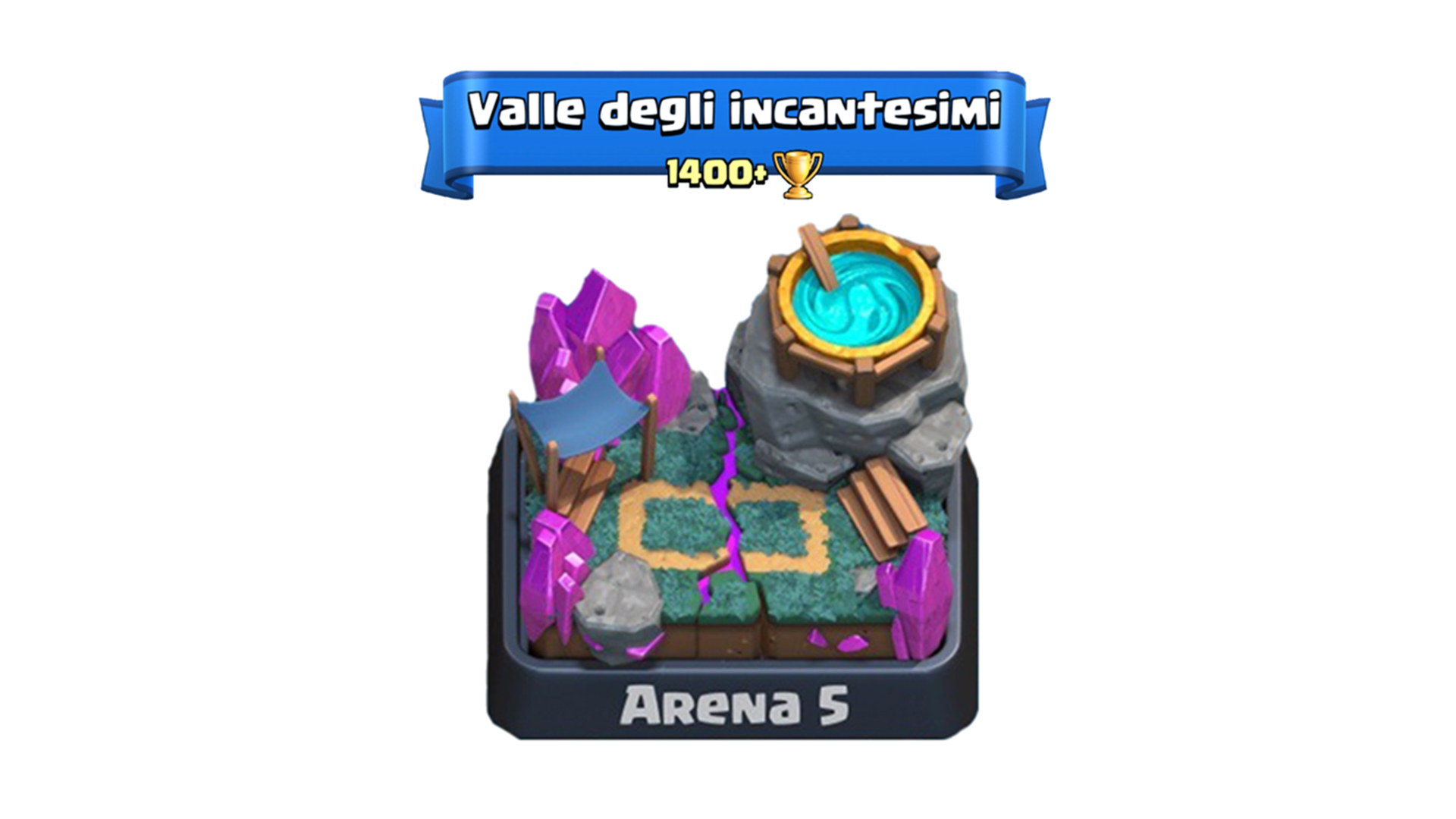 migliori deck arena 5 clash royale